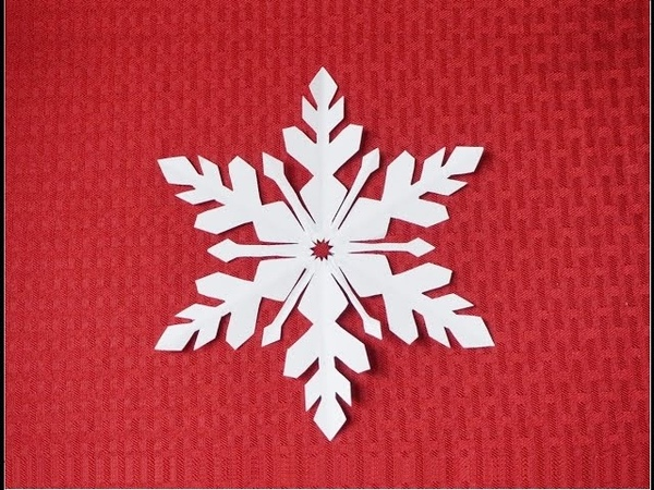 Paper Snowflake 2- Detailed tutorial- intermediate level - Can YOU do it