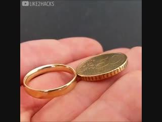 Мужчина сделал сам обручальное кольцо себе на свадьбу