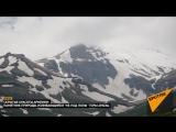Скрытые красоты Армении памятник природы, бьющий ключом из горы Арагац