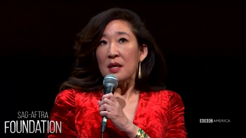 Sandra Oh Jodie Comer at SAG-AFTRA Foundation _ Killing Eve _ Sun, April 8 @ 8_7c on BBC America (1)