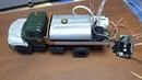 Строим ЗИЛ 130 поливалка действующая модель 1 43 ч 8