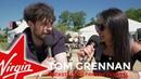 Tom Grennan backstage at TRNSMT Festival 2018