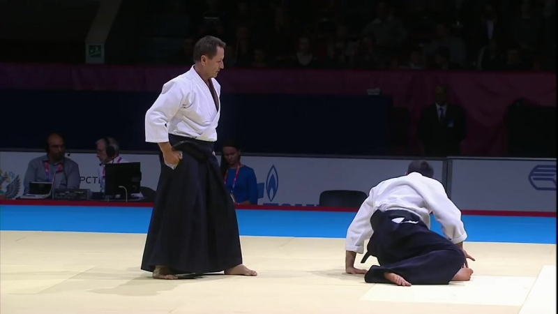 Christian Tissier Shihan at SportAccord World Combat Games 2013 - Full Demonstration.mp4