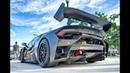 Lamborghini Huracan EVO Super Trofeo That's a LOUD BEAST at Cars and Coffee Palm Beach