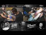 Юлия Валендорф против Леонида Изотова - сумасшедшие русские сказки (Tattoo Battle #10)