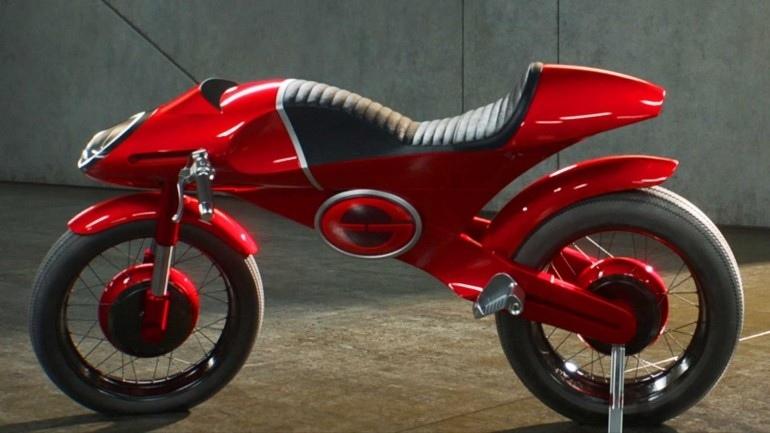 Электроцикл E1 Elasticycle в мультфильме «Суперсемейка 2»
