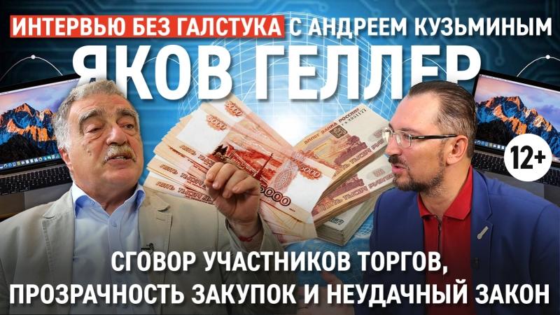 Самый крутой район РТ, неудачный закон и прозрачность закупок / Яков Геллер - Интервью без галстука