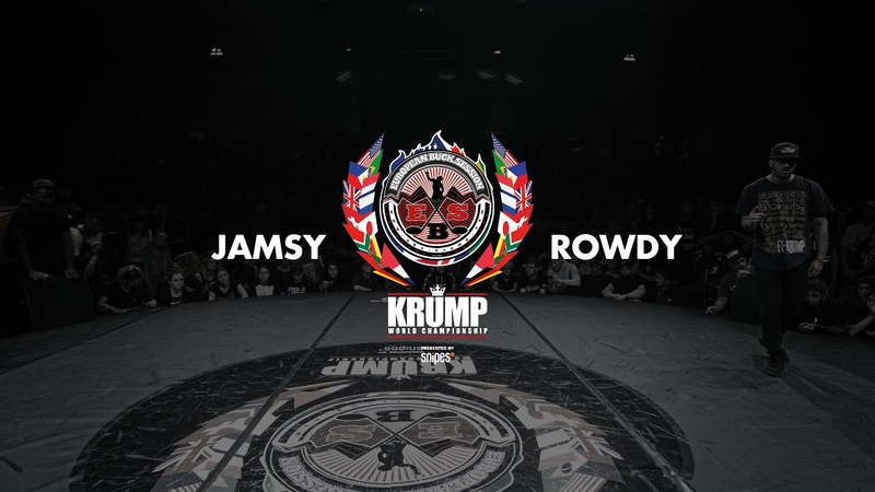 Jamsy vs Rowdy | Male Top 16 | EBS 2018
