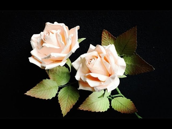 ABC TV   How To Make Rose Paper Flower With Shape Punch 1 - Craft Tutorial