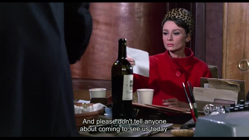 Charade HD - Audrey Hepburn (engl. subs) (1963)