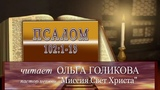 Место из Библии. Наши провозглашения. Псалом 1021-13