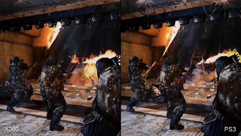Metro: Last Light - Xbox 360 vs. PS3 Comparison