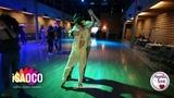 Irina Mikhalkina and Pavel Bekker Salsa Dancing in Mambolove, Monday 11.06.2018