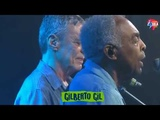 Show espetacular de Chico Buarque e Gilberto Gil encerra o Festival Lula Livre.