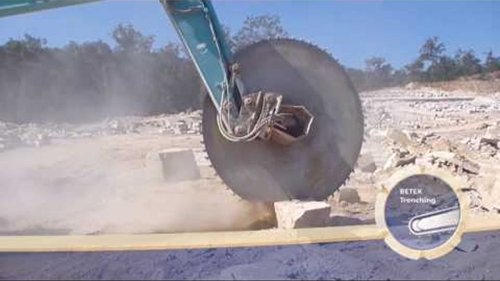 How to cut granite basalt limestone concrete in modern days