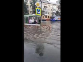 Ярославль тонет в ливне