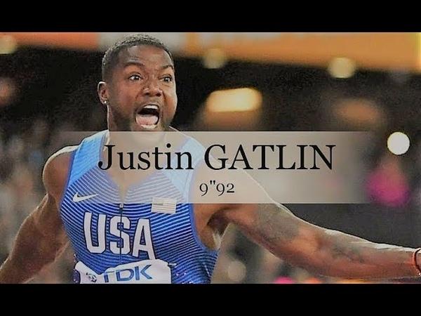 JUSTIN GATLIN détrone BOLT pour sa dernière