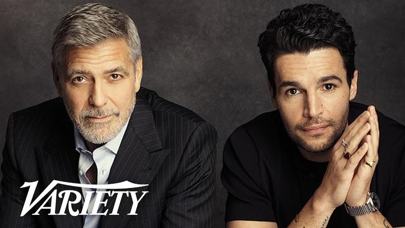George Clooney Talks Batman, TV Binges with 'Catch 22' Star Christopher Abbot