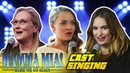 Mamma Mia 2 Here We Go Again Cast Singing (REAL VOICE) - Lily James, Amanda Seyfried