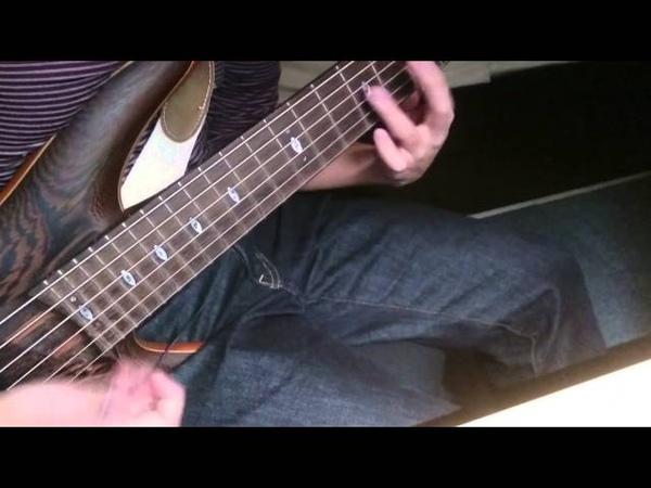 Ibanez SR-5006 Slap Bass(bpm=132)