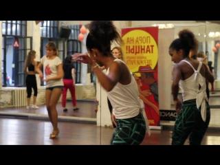 Сальса женская техника Lisandra Garcia, школа танцев Держи Ритм