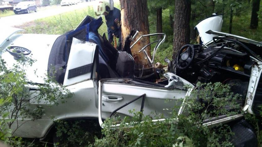 В ДТП на трассе Вершинино-Юрское погибли два человека