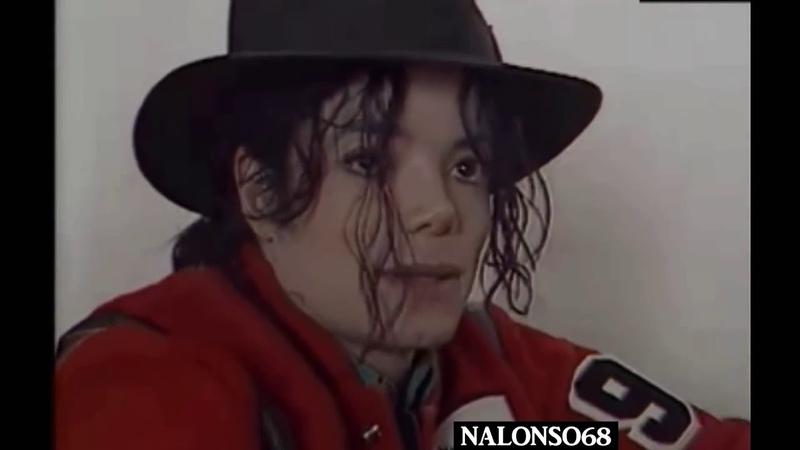 Copy of Michael Jackson Visiting Children's Hospital 1993 RARE