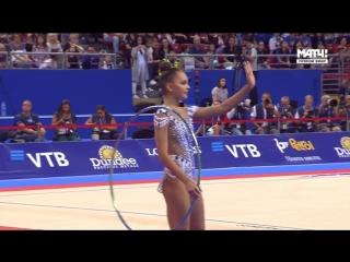 Арина Аверина обруч (EF) — Чемпионат Мира 2018 / Болгария, София