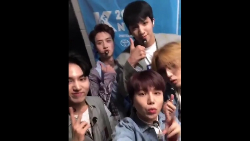 KCON 공식 인스타그램 업뎃 2 펜타곤 - - KCONNY2018 @CUBE_PTG