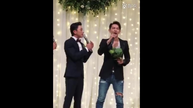 видео из СМИ- блога 豆姐爱追星 / брокколи и Д9ира