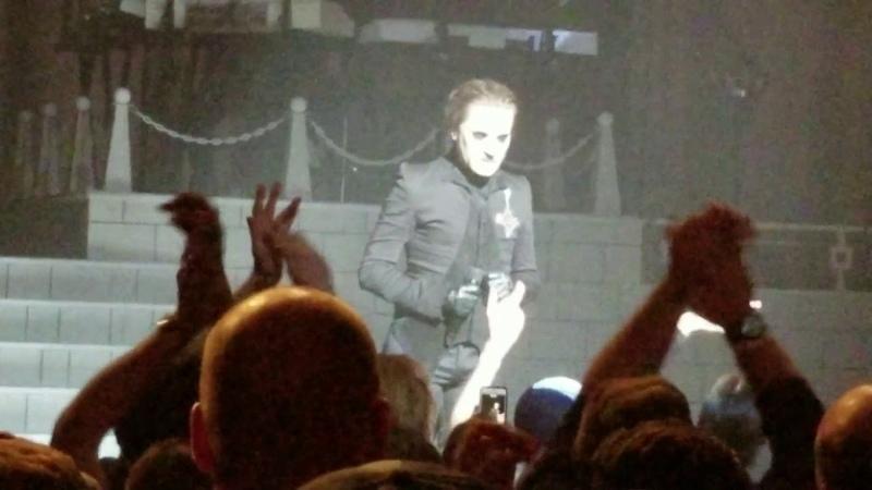Ghost honors fallen fan