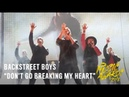 Backstreet Boys | Don't Go Breaking My Heart | LIVE at the 2018 CMT Music Awards