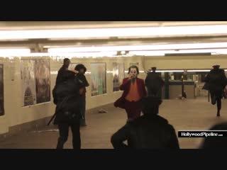 Видео со съемок фильма Джокер