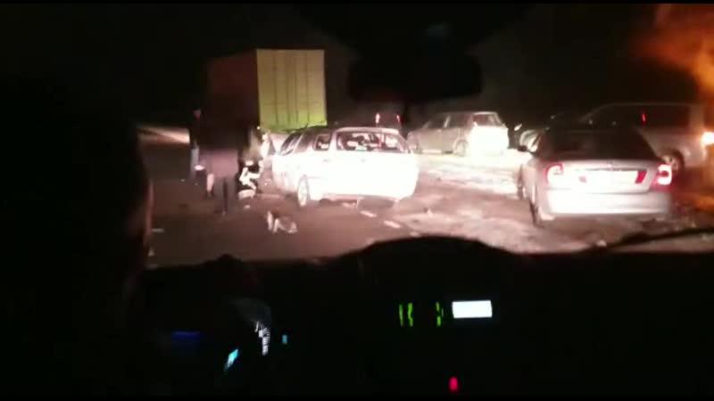 ДТП с участием пяти машин на трасе Благовещенск Свободный