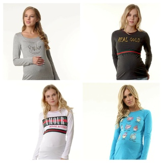 Блузы, свитера, лонгсливы для беременных и кормящих 92b933f9a65