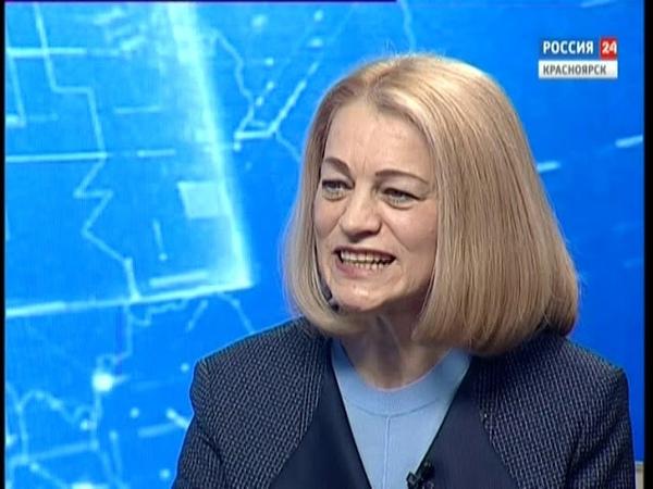 Вести.Интервью: министр образования Красноярского края Светлана Маковская