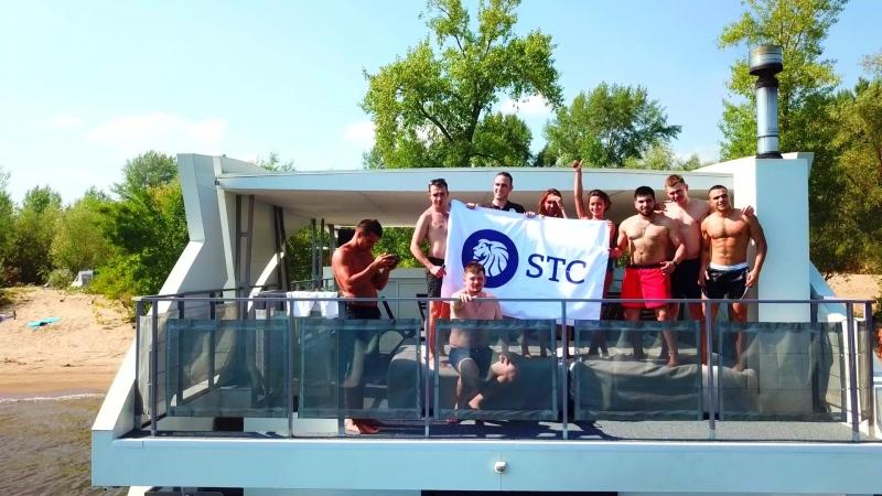 STC корпоратив на Яхте, г.Самара