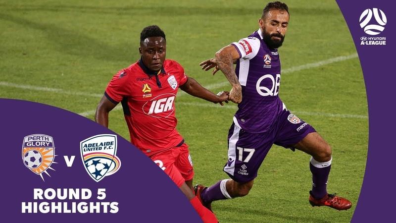 Hyundai A-League 2017/18 Round 5: Perth Glory 1 - 0 Adelaide United