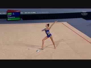 Дарья Трубникова, художественная гимнастика. Золотое выступление на Юношеских Олимпийских играх #БуэносАйрес2018