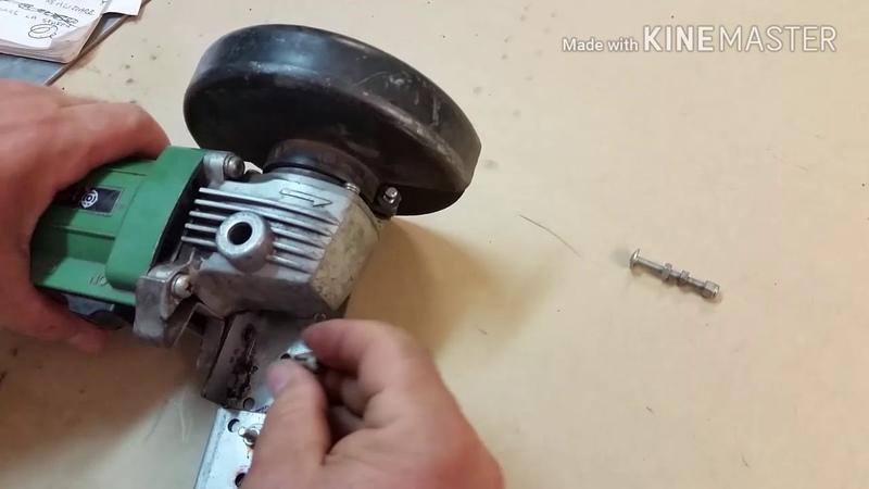 Taglio circolare con smerigliatrice angolare. - Angle grinder for circle tool.