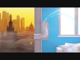 Tion Бризер 3S. Компактная вентиляция для квартиры, дома и офиса