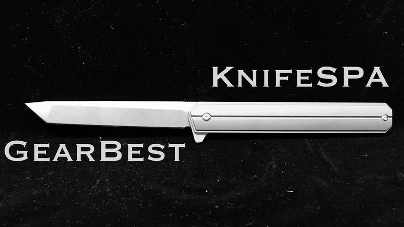 Gearbest - FURA титановый складной нож Knife SPA