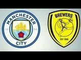 Манчестер Сити Бертон Альбион прямая трансляция обзор матча Manchester City vs Burton Albion Live
