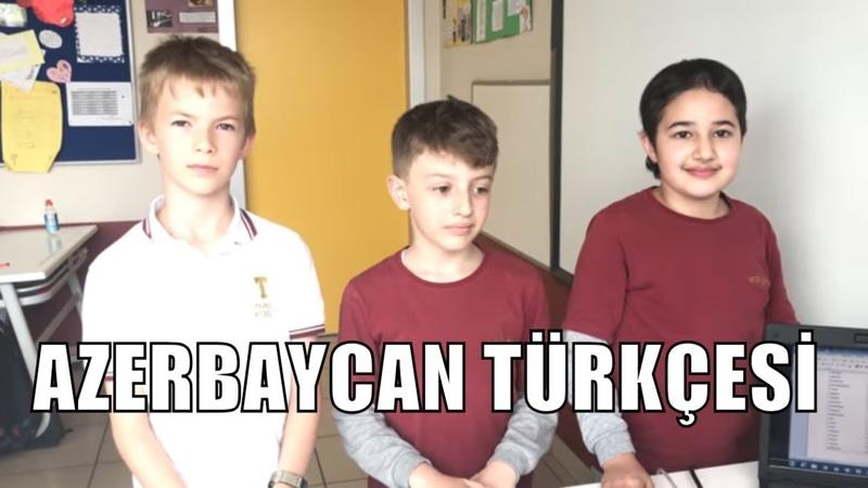 Azerbaycan Türkçesi Kelimeler Turnuvası (Türkiyede Bir İlk)