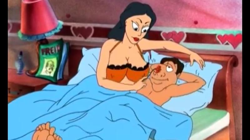Не детский мультфильм СМЕХ И ГРЕХ (полностью) The animated cartoon is Laughter and sin