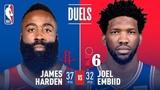 James Harden & Joel Embiid Duel in Philadelphia | January 21, 2019 #NBANews #NBA #Rockets #JamesHarden #76ers #JoelEmbiid