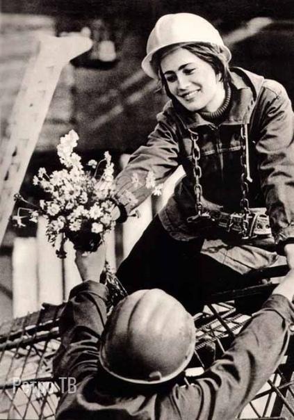 Дарите девушкам цветы! 1970-е. Спасибо за и подписку