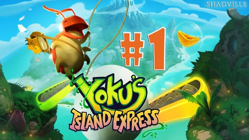 Yoku's Island Express Прохождение 1 Жук-почтальон