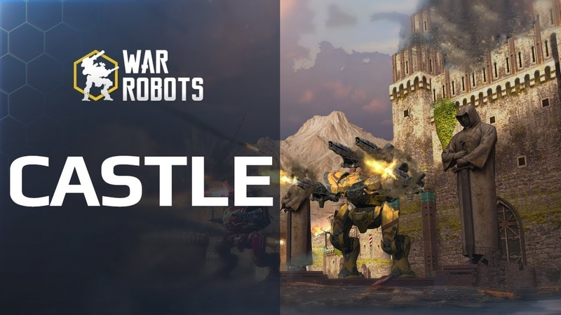 War Robots Castle - new map (trailer)