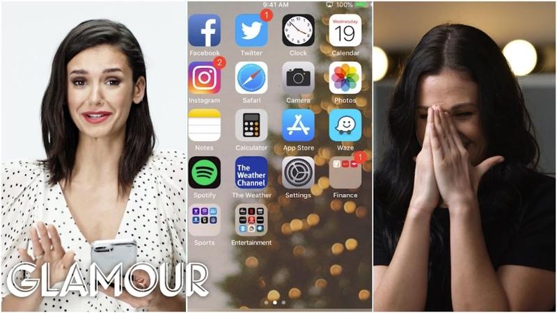 Nina Dobrev Hijacks a Stranger's Phone Glamour